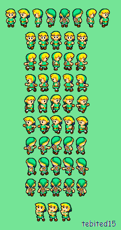 Toon Link BIS overworld by tebited15 - 32.2KB