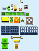 Super mario 3D land random elements BIS styled by tebited15