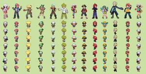 Pkmn world tournament all trainers overworld