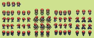 Pokemon Trainer Calem Overworld by tebited15