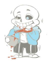 Sans's Ketchup Addiction
