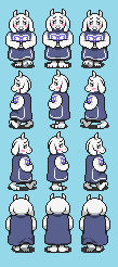 Goat mama Toriel -  Undertale 2.0