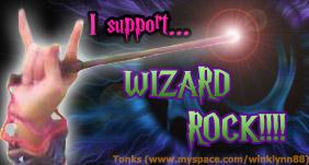 I support Wizard Rock by winklynn88