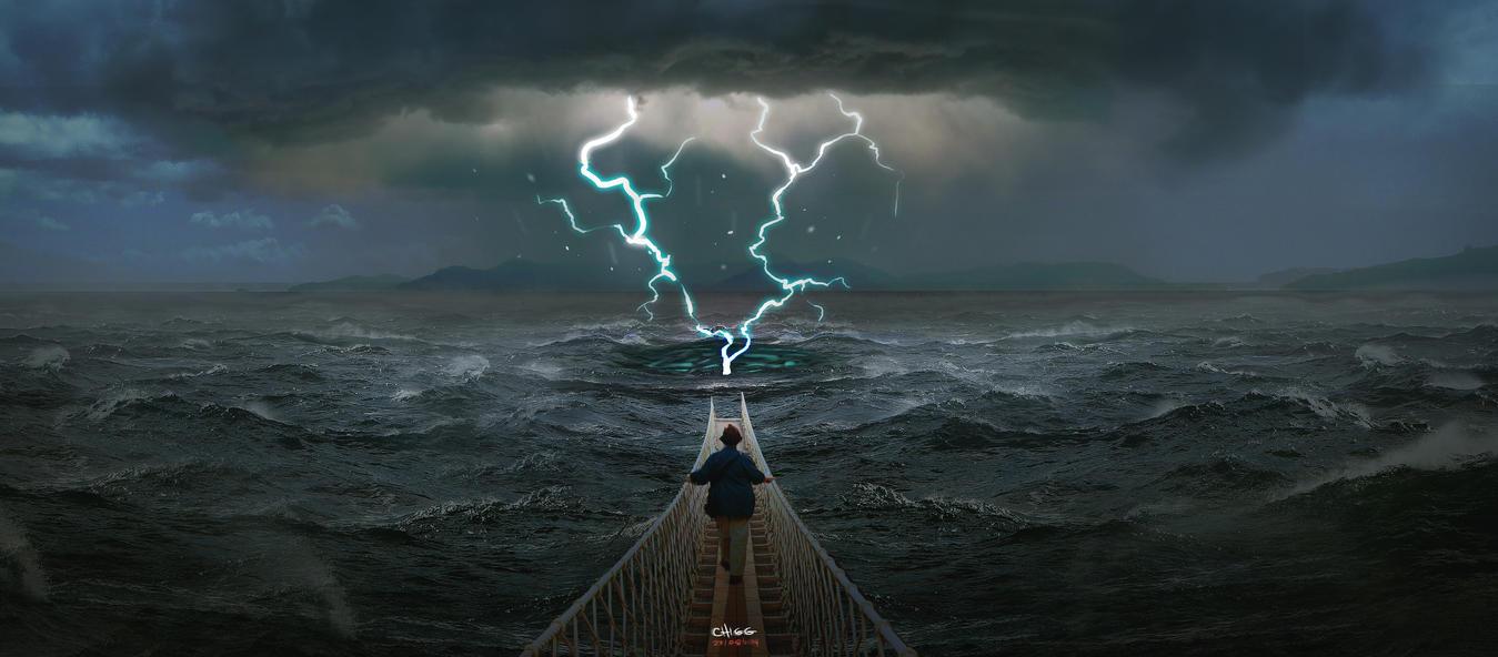 Bridge To The Spirit World by SammyKhalid