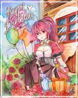 Happy birthday Elesis by kirabunni