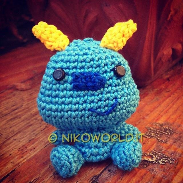 Amigurumi Monster Inc Patrones : Handmade Amigurumi Sulley Monster inc. by HanaDesign1 on ...