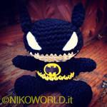 Handmade Amigurumi Chibi Batman