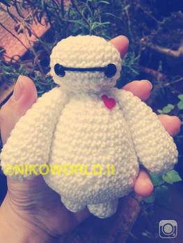Amigurumi Handmade Chibi Baymax from Big Hero 6!
