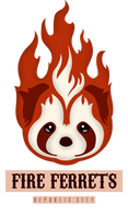 Fire Ferrets - Vector by eduardowar