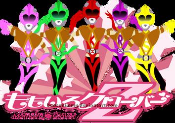 MOMOIRO CLOVER Z: GO, GO, POWERPUFF RANGERS GIRLS! by bonemummy
