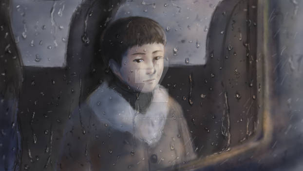 [Game CG] The Midnight Train