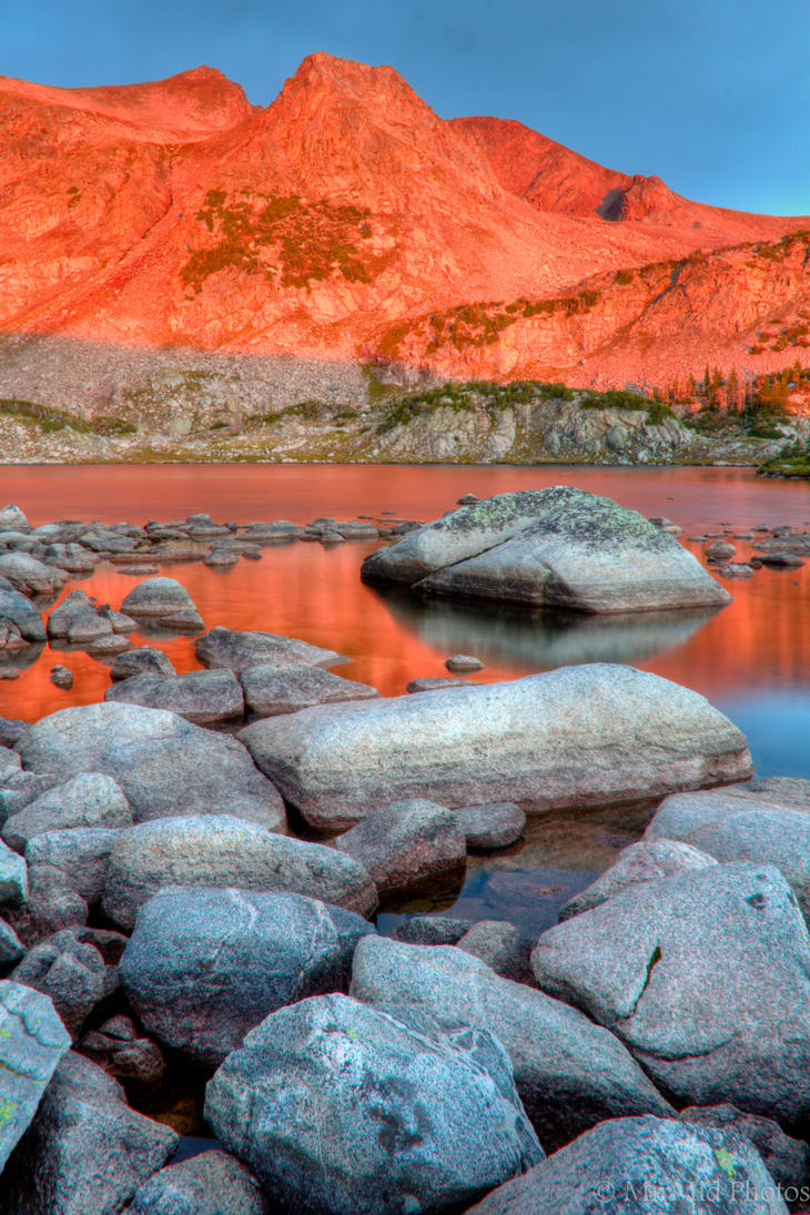Alpenglow by MirMidPhotos