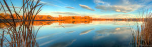 Riverbend Pond Panorama
