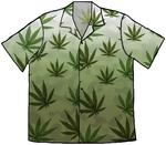 Weed Hawaiian Shirt