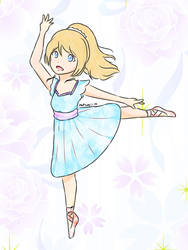 Eli Ayase Ballet by NQ01