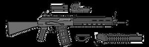 GSI A rifle mk3