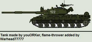 Bulgarian Rhino Tank V1 (NS, JG)