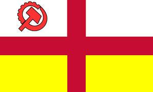The United Socialist Republic of Genoa, Small Flag