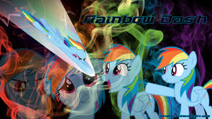 Rainbow Dash Smoke Wallpaper