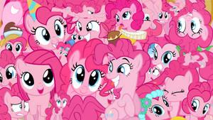 Pinkie Pie Collage Wallpaper