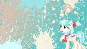 Coco Pommel Splatter Wallpaper by brightrai