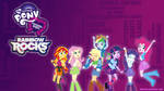 Equestria Girls Rainbow Rocks Main 7 Wallpaper