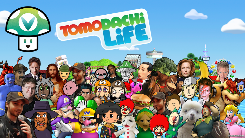 Vinesauce Tomodachi Life - Part 51 Update by brightrai