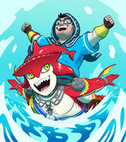 Sidon and Ahnand (gift!) by Digsaw
