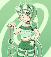 Chameleon Gal by Digsaw