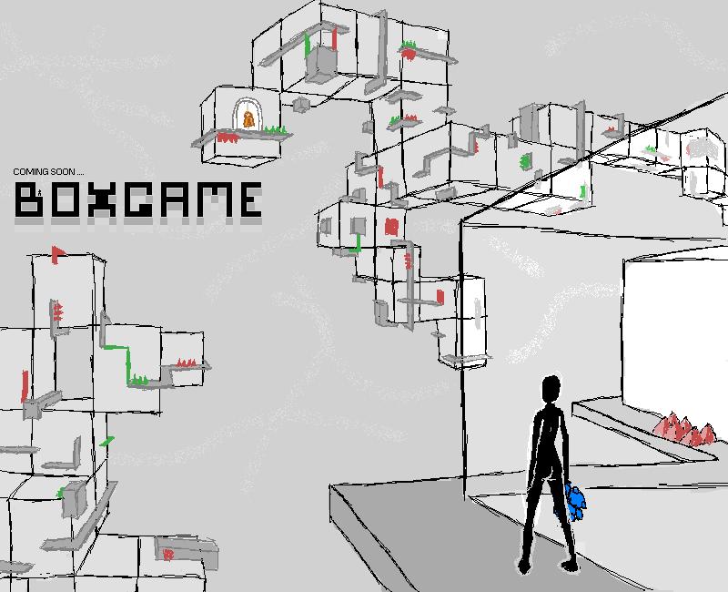 BOXGAME doodle by SophieHoulden