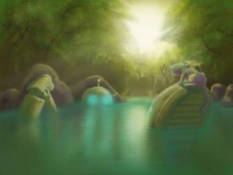 Swamp Robot by SophieHoulden