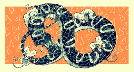 Snake and Mice
