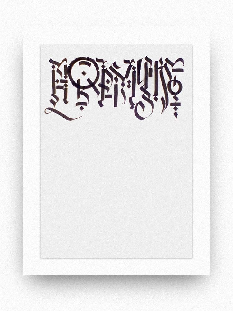 Modern calligraphy normal by andreyalekseev on deviantart