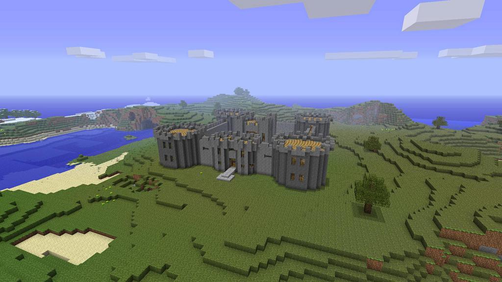 Minecraft Castle Tower Layout Minecraft Decorative Medieval