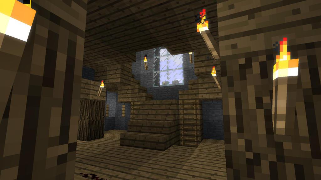 Minecraft Castle Staircase : Minecraft castle stairs by burntcustard on deviantart