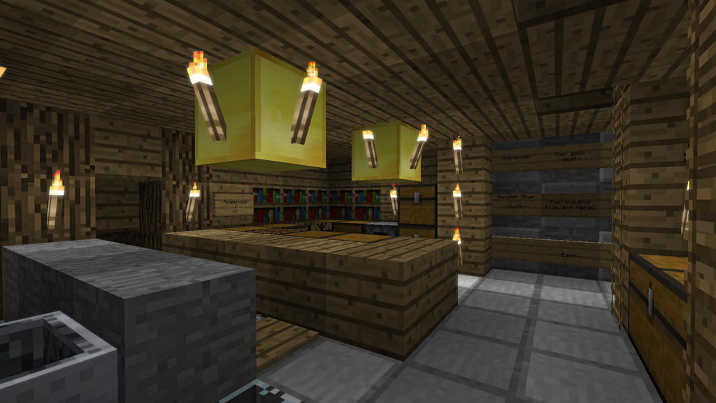 Minecraft Castle Basement By Burntcustard On Deviantart