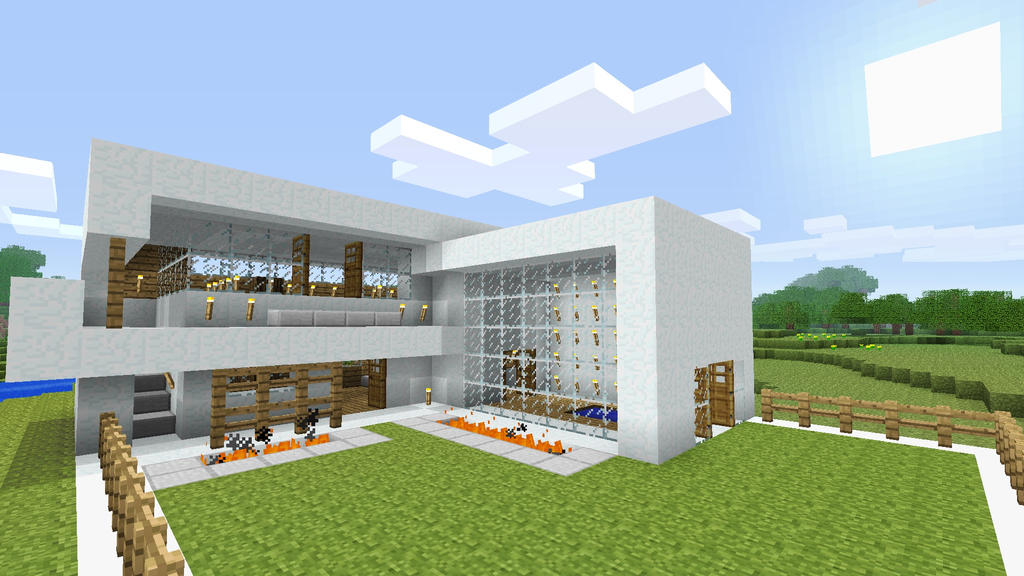 Burntcustard's Minecraft Blog: Showcase - My modern snow house on simple paver walkway designs, high ranch house designs, simple tree house designs, minecraft road designs, simple game designs, simple country house floor plans, front porch and walkway step designs, simple terraria house designs, simple modern designs, the sims 2 house designs, easy walkway designs, simple bat house designs, simple house designs philippines,