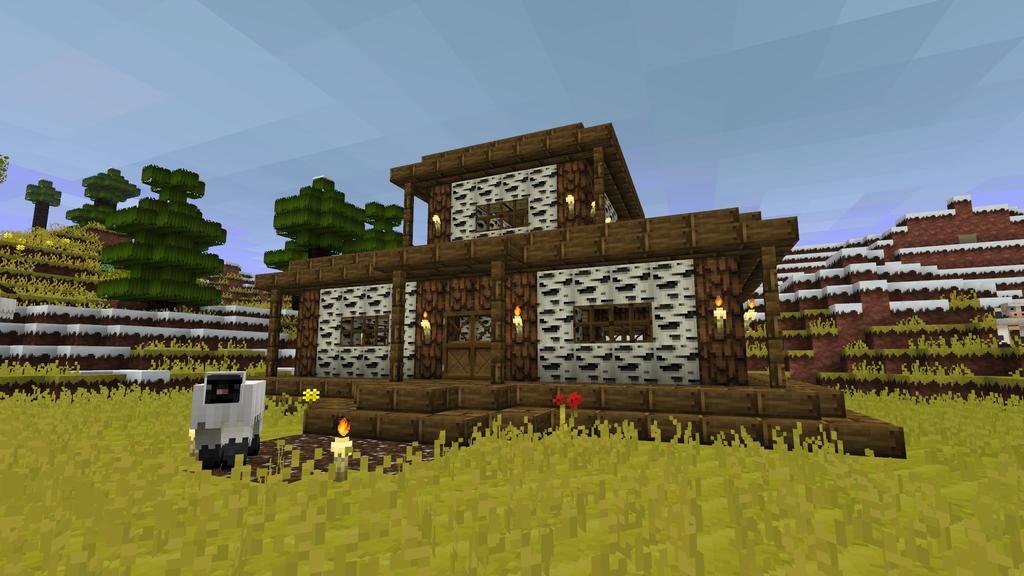 Small Minecraft Cottage Small Modern House Ideas Minecraft Modern