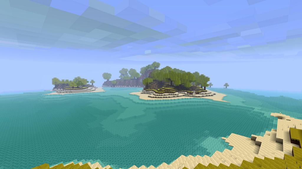 Minecraft Resort Island