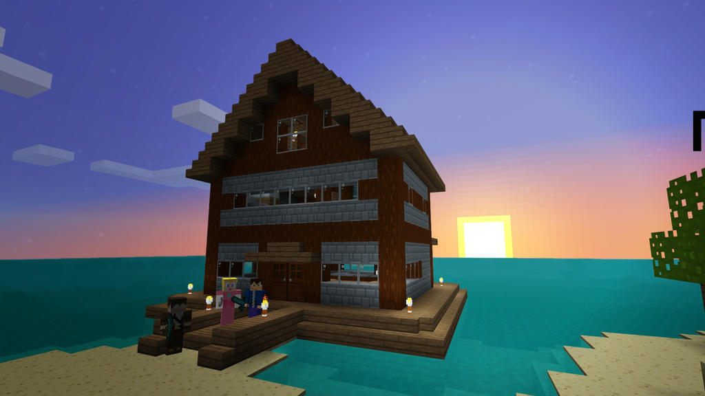 Minecraft Survival Island Review
