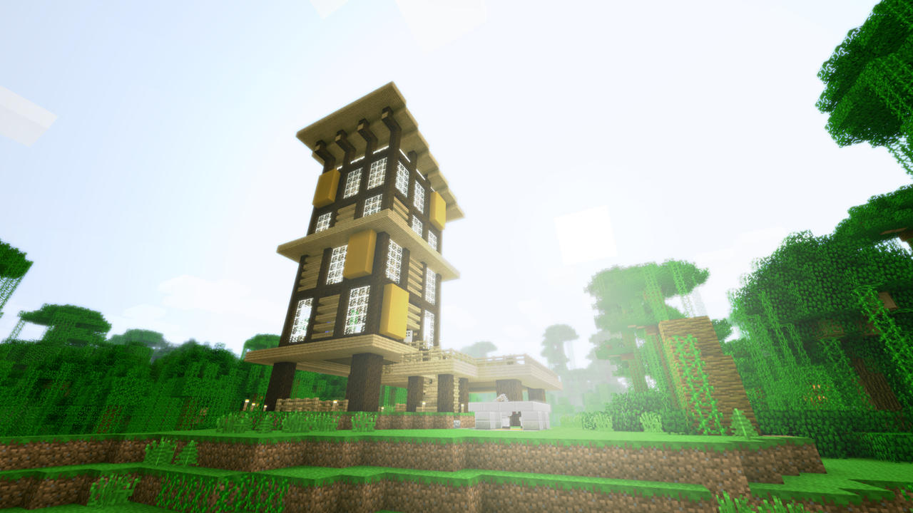 Modern jungle house by burntcustard modern jungle house by burntcustard