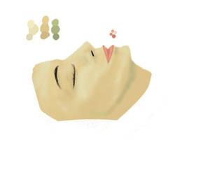 Digital Face study by Zanora-zara