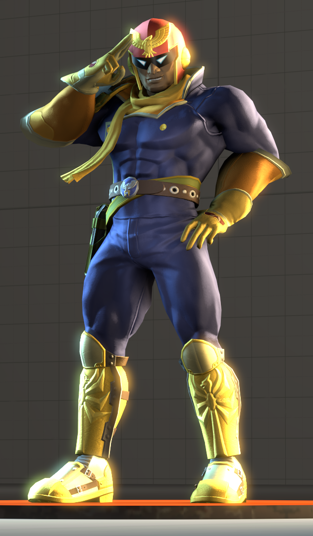 captain falcon falcon punch gif