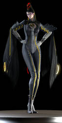 Bayonetta (A Witch With No Memories) by Yare-Yare-Dong