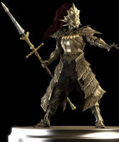 Dragonslayer Ornstein by Yare-Yare-Dong