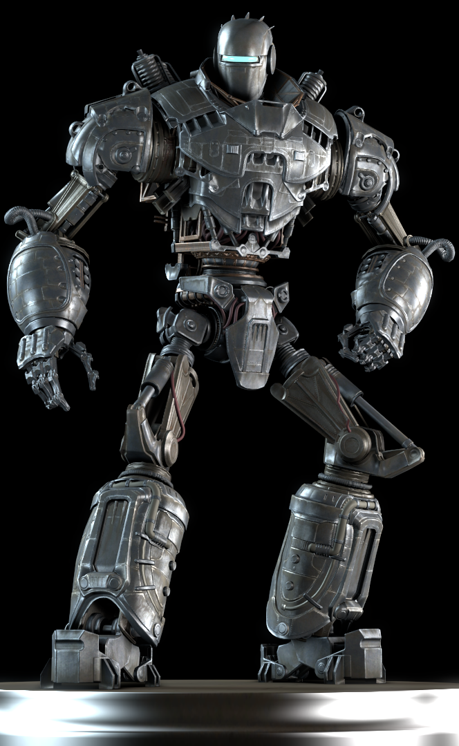 how tall is liberty prime