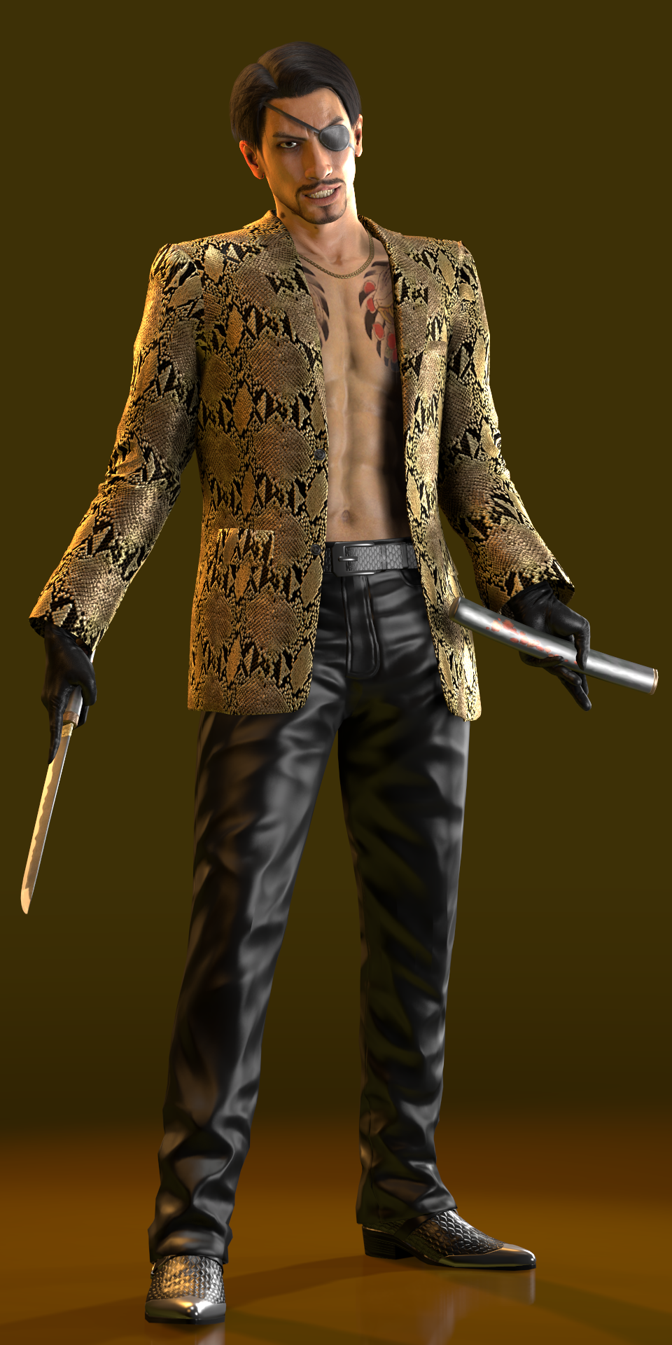 Goro Majima Default By Yare Yare Dong On Deviantart Goro majima is one of kazuma kiryu's most trustworthy allies, and his biggest rival, in the yakuza series. goro majima default by yare yare dong