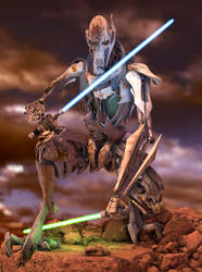 General Grievous (Shattered Armor) by Yare-Yare-Dong
