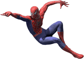 Spider-Man (Webbed Suit) by Yare-Yare-Dong