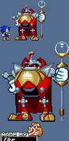 Heavy King Advance/Battle-Style Sprite by The-Hoennest